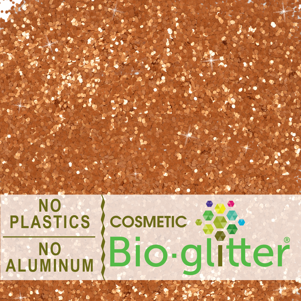 Eco Glitter (Aluminum Free) Fine, Bronze - Soap Making Supplies, Essential Oils, Fragrance Oils at Calgary, Alberta Soap and More the Learning Centre Inc in Canada