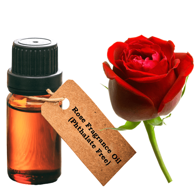 Rose Fragrance Oil (Phthalate Free)