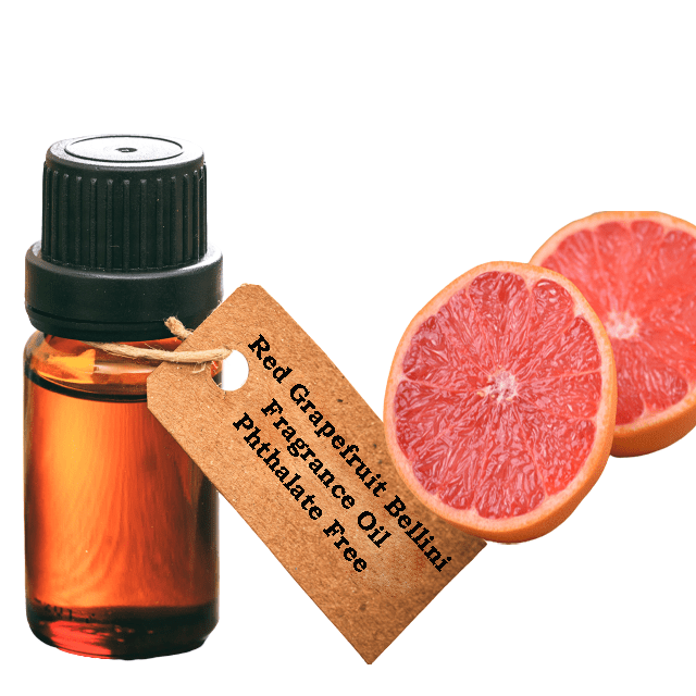 Red Grapefruit Bellini Fragrance Oil  Phthalate Free. - Soap & More the Learning Centre Inc