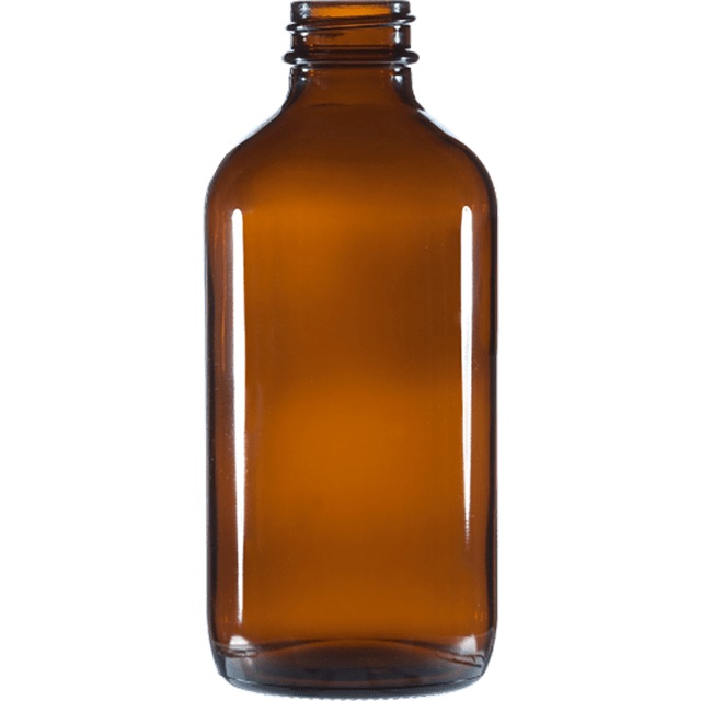240 ml - 8 oz Amber Glass Bottles LIDS SOLD SEPARATELY - Soap & More the Learning Centre Inc