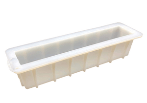 "2 LB 12"" Skinny Silicone Loaf Mold - Soap & More the Learning Centre Inc"