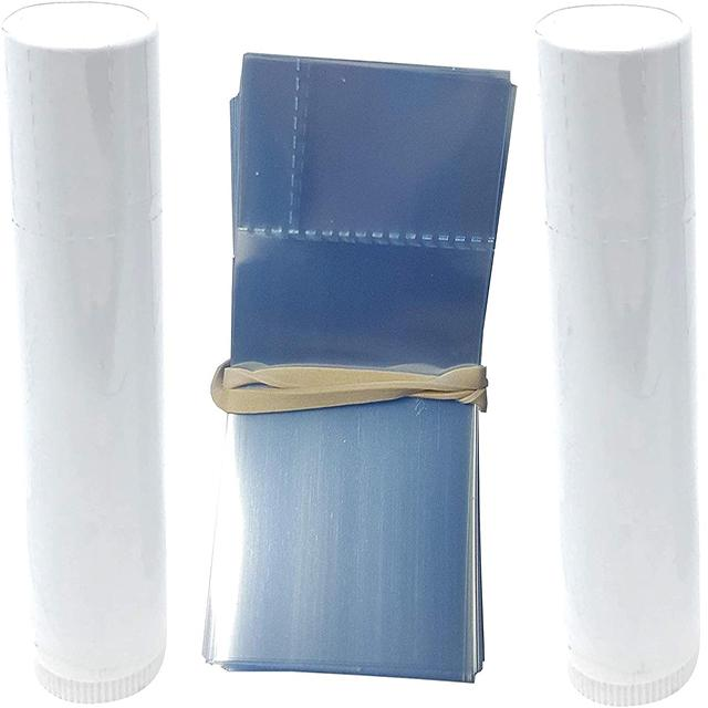 Shrink Bands (shorty) for Round Lip Balm Tubes - Soap & More the Learning Centre Inc