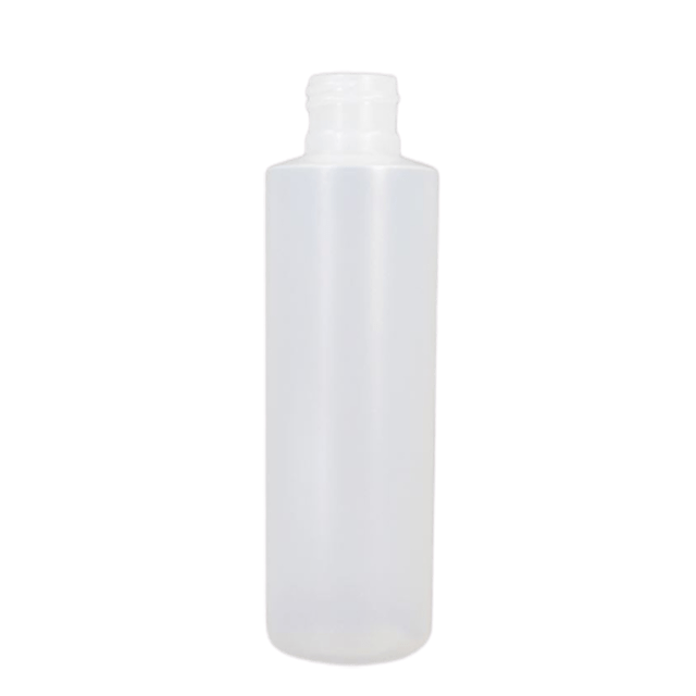 250 ml/8 oz Natural Cylinder Bottle LIDS SOLD SEPARATELY - Soap & More the Learning Centre Inc