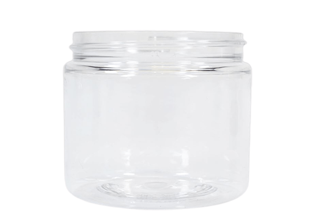 360ml/12oz Clear Jar LIDS SOLD SEPARATELY - Soap & More the Learning Centre Inc
