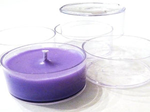 Tealight Cups (Polycarbonate) 1 DOZ - Soap & More the Learning Centre Inc