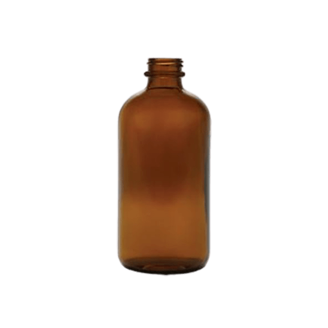 500 ml - 16 oz Amber Glass Bottle LIDS SOLD SEPARATELY - Soap & More the Learning Centre Inc