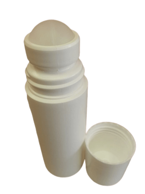 90 ml/3 oz White Roller Bottle Set - Soap & More the Learning Centre Inc