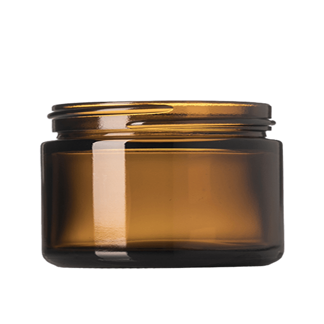 25 ml Glass Amber Jar LIDS SOLD SEPARATELY - Soap Making Supplies, Essential Oils, Fragrance Oils at Calgary, Alberta Soap and More the Learning Centre Inc in Canada