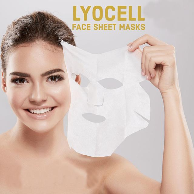 Sheet Mask Lycocell - Soap & More the Learning Centre Inc