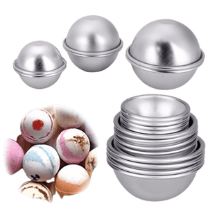 "Bath Bomb Mold Sphere 1.5"" Metal - Soap & More the Learning Centre Inc"