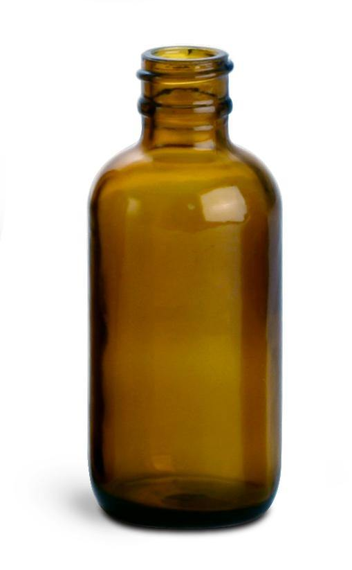 50 ml Amber Glass Bottle LIDS SOLD SEPARATELY - Soap & More the Learning Centre Inc