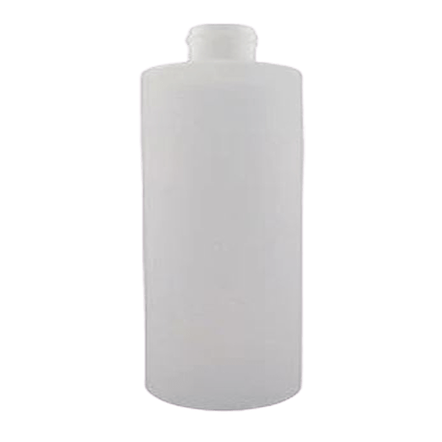 500ml/16 oz Natural Cylinder Bottle LIDS SOLD SEPARATELY - Soap & More the Learning Centre Inc