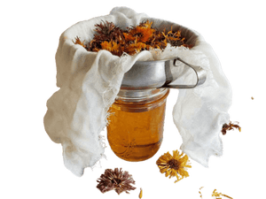 Calendula infused in Organic Sunflower Oil - Soap & More the Learning Centre Inc