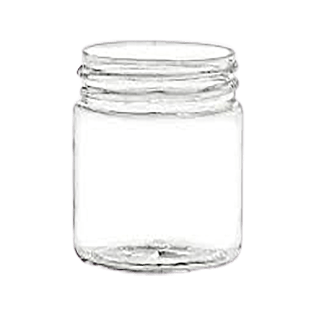 120 ml Glass Jar Clear LIDS SOLD SEPARATELY - Soap Making Supplies, Essential Oils, Fragrance Oils at Calgary, Alberta Soap and More the Learning Centre Inc in Canada