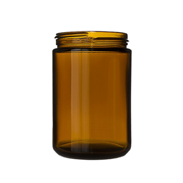 100 ml Glass Amber Jar LIDS SOLD SEPARATELY - Soap Making Supplies, Essential Oils, Fragrance Oils at Calgary, Alberta Soap and More the Learning Centre Inc in Canada