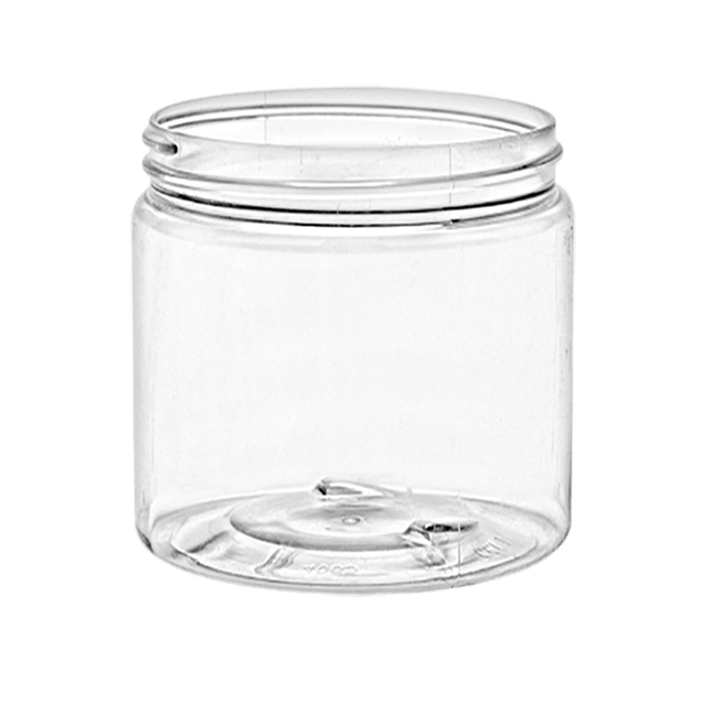 60 ml/2oz Clear Pet  Jars Lids Sold Separatetly - Soap & More the Learning Centre Inc