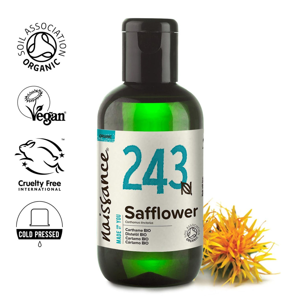 Naissance 100% pure, refined Organic Safflower Oil