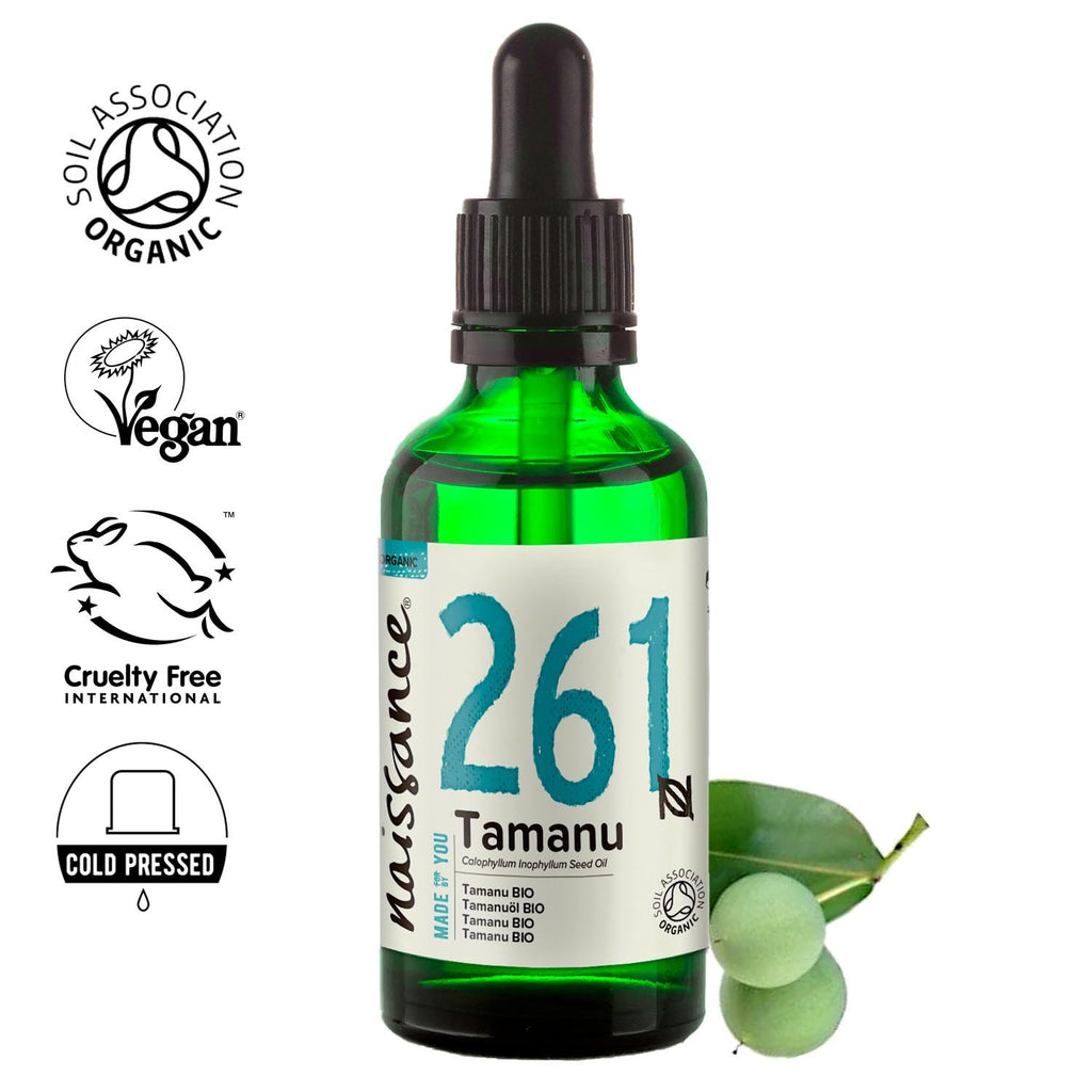 Naissance 100% pure, cold pressed Organic Tamanu Oil