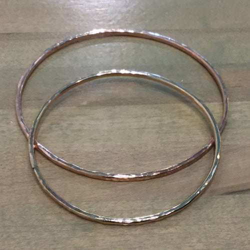 Gold Filled Plain Bangle 12g