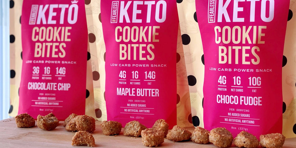 Fearless Keto Cookie Bites