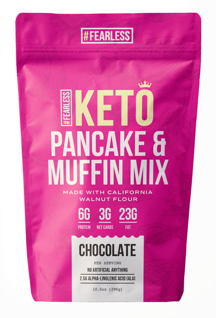 Chocolate-Pancake Mix-Fearless Keto