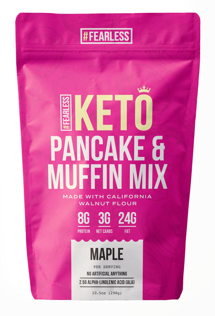 Maple-Pancake Mix-Fearless Keto