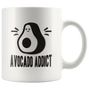 ''Avocado-Addict''Set of 2 MUGS