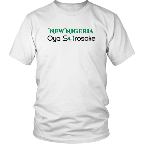 """New NIGERIA, District Unisex Shirt"""