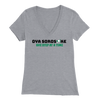"""One Step At a Time, Bella Womens V-Neck"""