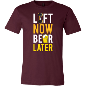 ''Lifting - Lift Now Beer Later'' TSHIRTS