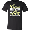 ''COFFEE BEFORE LIFTY'' T SHIRTS