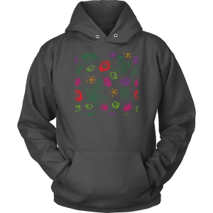 ''Berry Patterns'' HOODIE