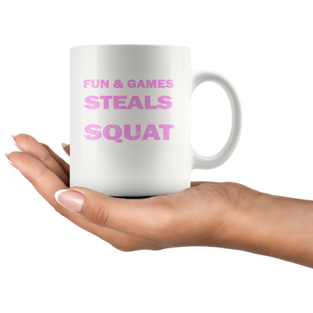 ''Fun And Games'' MUGS