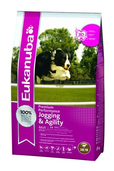 Eukanuba Jogging & Agility All Breeds 15kg
