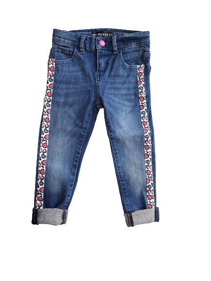 Jeans cuoricini Guess - Coccole e Ricami |email: info@coccoleericami.shop|
