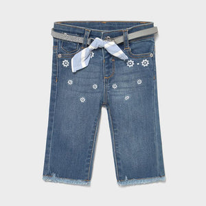 Jeans ricamo |1577| - Coccole e Ricami |email: info@coccoleericami.shop|