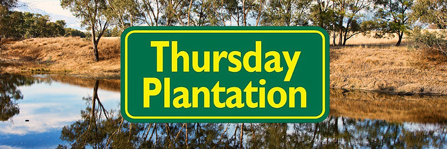thursday plantation hk marketing banner logo