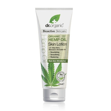 Dr Organic Hemp Oil Skin Lotion 200ml - Natural Ethos