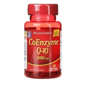 Holland & Barrett CoEnzyme Q-10 200mg 30 Capsules - Natural Ethos