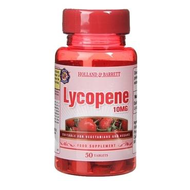 Holland & Barrett Lycopene 10mg 50 Tablets - Natural Ethos