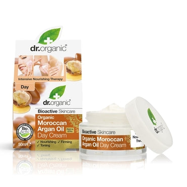 Dr Organic Moroccan Argan Oil Day Cream 50ml - Natural Ethos