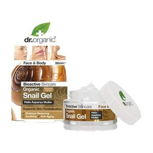 Dr Organic Snail Gel 50ml - Natural Ethos