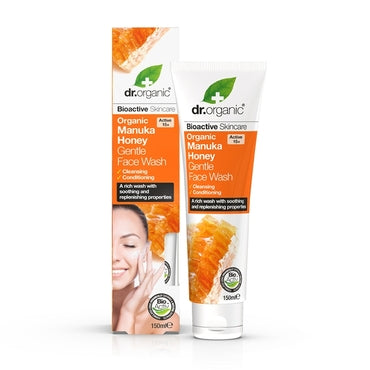 Dr Organic Manuka Honey Gentle Face Wash 150ml - Natural Ethos