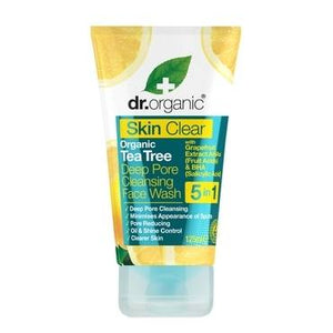 Dr Organic Skin Clear Deep Pore Face Wash 125ml - Natural Ethos