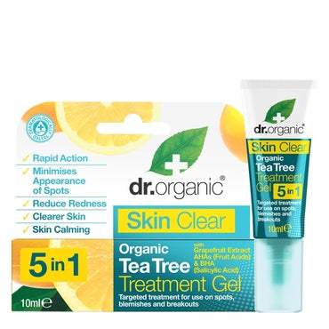 Dr Organic Skin Clear Treatment Gel 10ml - Natural Ethos
