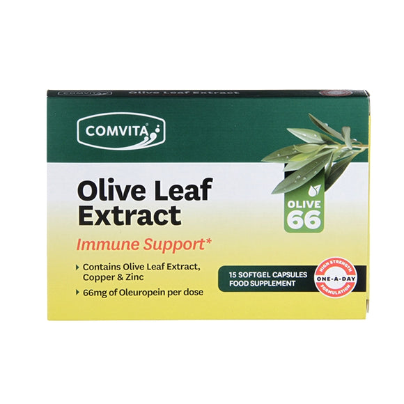 Comvita Olive Leaf Immune Support 15 Day Capsules - Natural Ethos