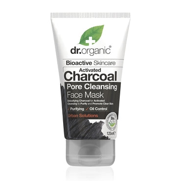 Dr Organic Charcoal Face Mask 125ml - Natural Ethos