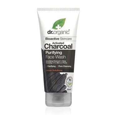 Dr Organic Charcoal Face Wash 200ml - Natural Ethos