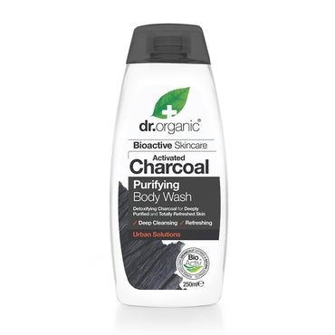 Dr Organic Charcoal Body Wash 250ml - Natural Ethos