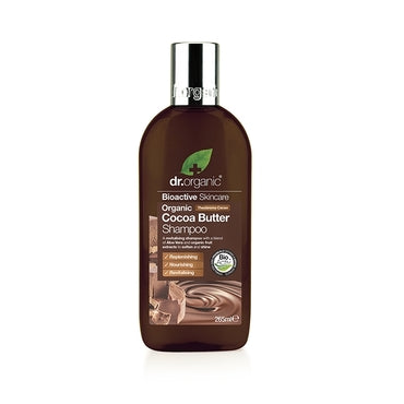 Dr Organic Cocoa Butter Creamy Shampoo 265ml - Natural Ethos
